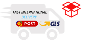 Fast international delivery!
