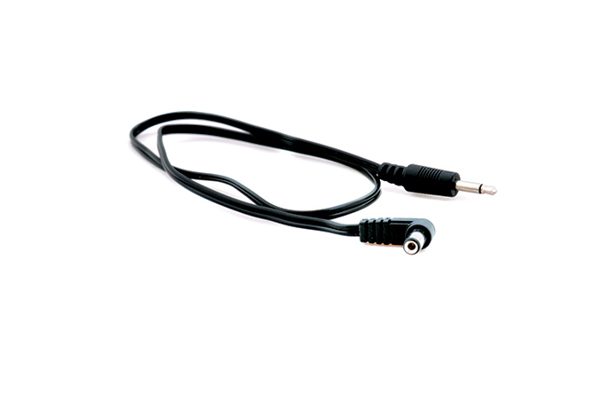 DC to mini-jack cable, 50cm