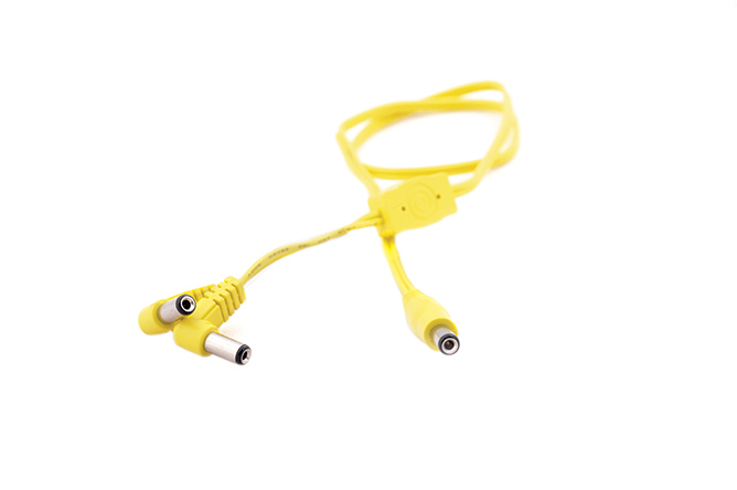 Yellow voltage doubler cable, 55cm