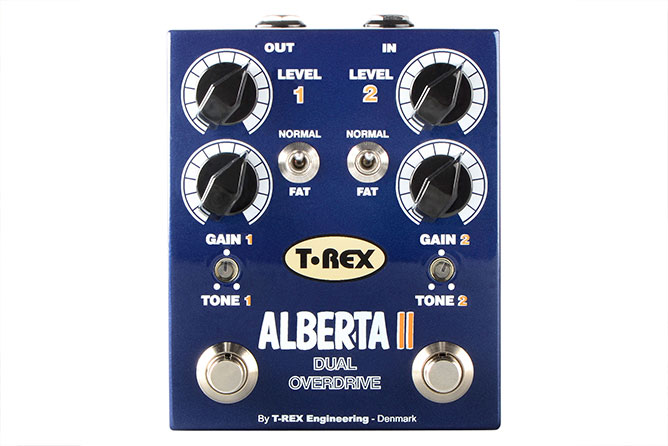 T-Rex Alberta II dual overdrive