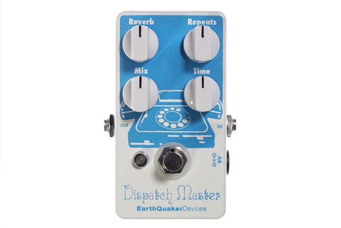 EarthQuaker Devices Dispatch Master delay/reverb