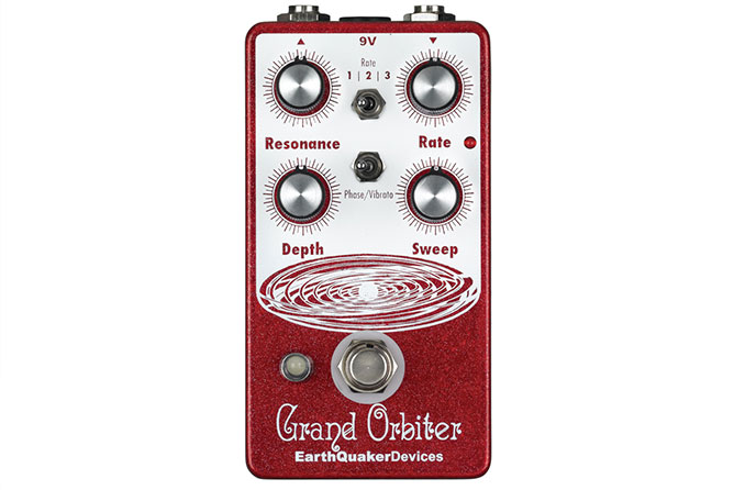 EarthQuaker Devices Grand Orbiter phaser