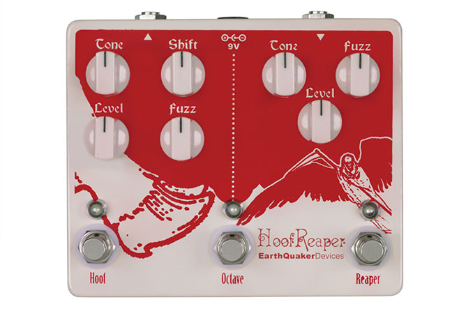 EarthQuaker Devices Hoof Reaper Octave Fuzz