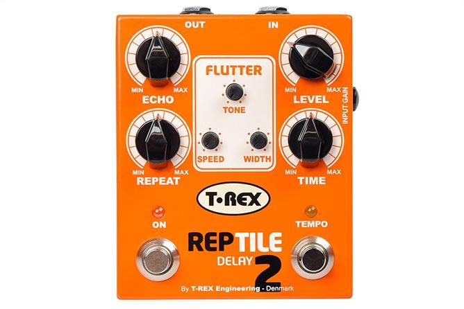T-Rex Reptile 2 delay