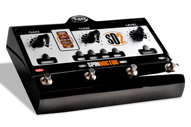 T-Rex SpinDoctor 2 tube overdrive/distortion