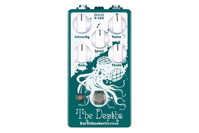 EarthQuaker Devices The Depths vibe