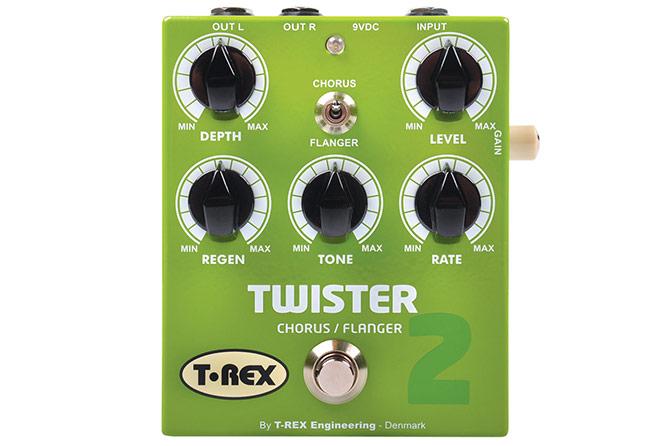 T-Rex Twister 2 chorus & flanger