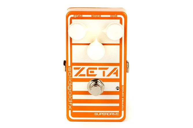 Solid Gold FX Zeta overdrive