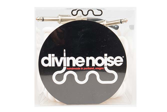 Divine Noise 9m 50/50 Cable Glossy White (ST-ST)