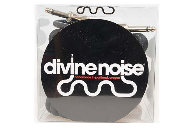 Divine Noise 9m Curly Cable Black (ST-ST)
