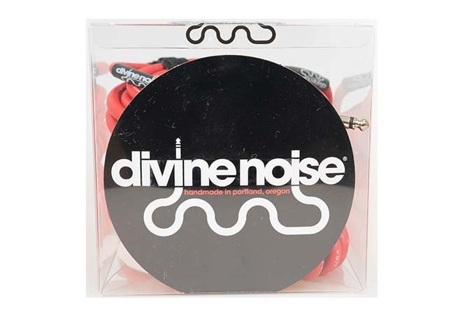 Divine Noise 9m Curly Cable Red (ST-ST)