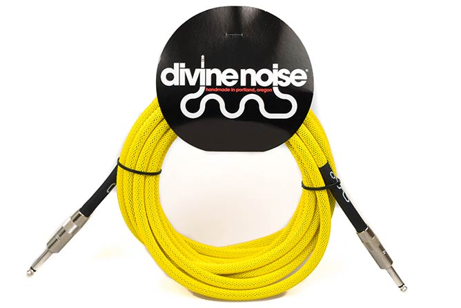 Divine Noise 4.5m Tech Flex Cable Neon Yellow (ST-ST)