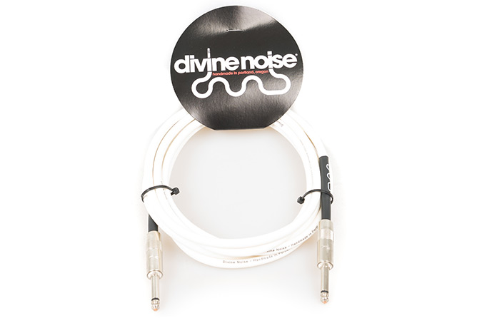 Divine Noise 3m Straight Cable Glossy white (ST-ST)