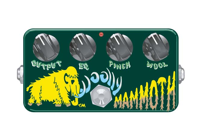 ZVEX Woolly Mammoth bass fuzz