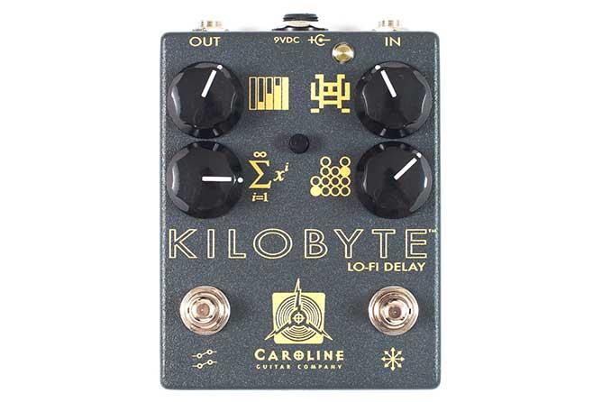 Caroline Guitar Company Kilobyte delay