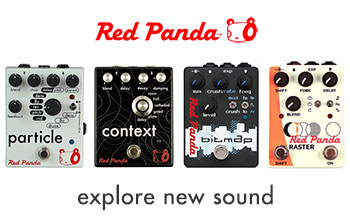 Red Panda guitar effects