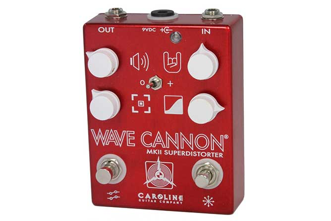 Caroline Guitar Company Wave Cannon MKII distortion