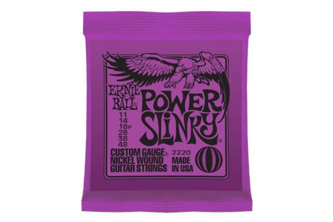 Ernie Ball Power Slinky Electric Strings 11-48