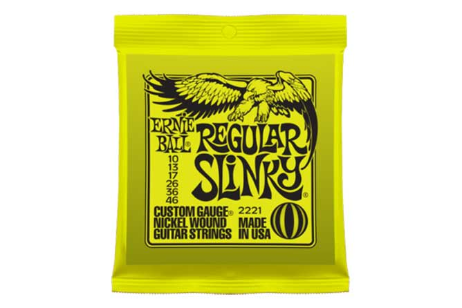Ernie Ball Regular Slinky Electric Strings 10-46