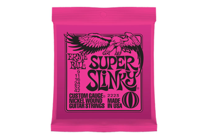 Ernie Ball Super Slinky Electric Strings 09-42