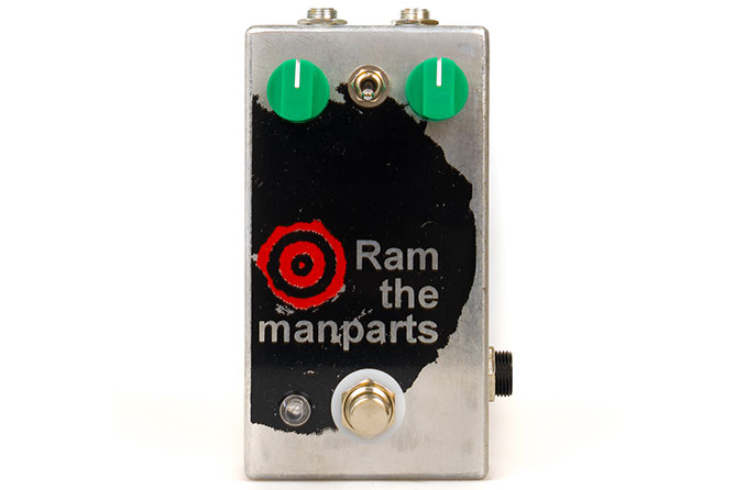 Fuzzrocious Pedals Ram the Manparts