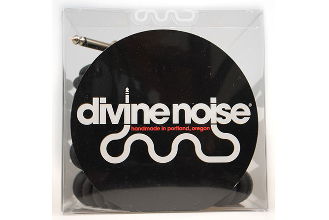 Divine Noise 9m 50/50 Cable Black (ST-RA) - Right Angle on straight end