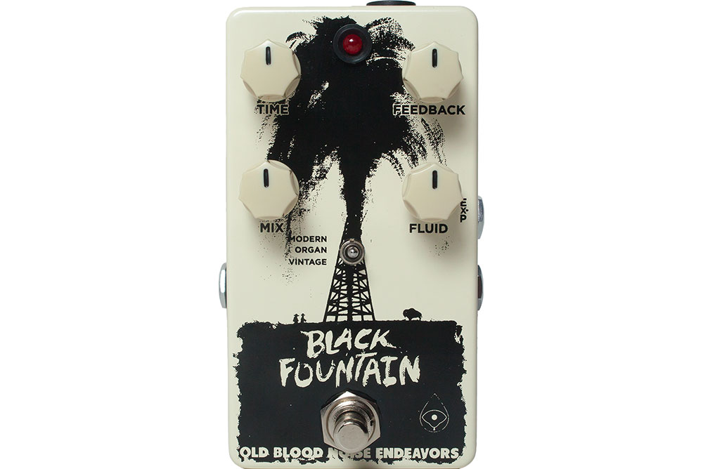 Old Blood Noise Endeavors Black Fountain Delay V2