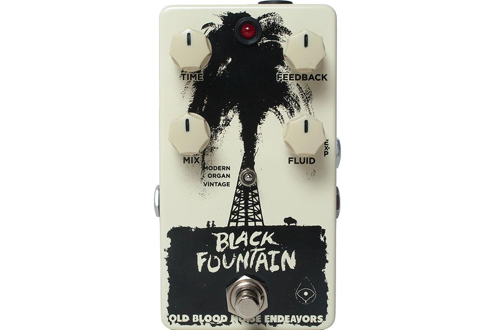 Old Blood Noise Endeavors Black Fountain Delay V2