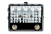 Solid Gold FX Stutterbox tremolo - Custom Shop Black