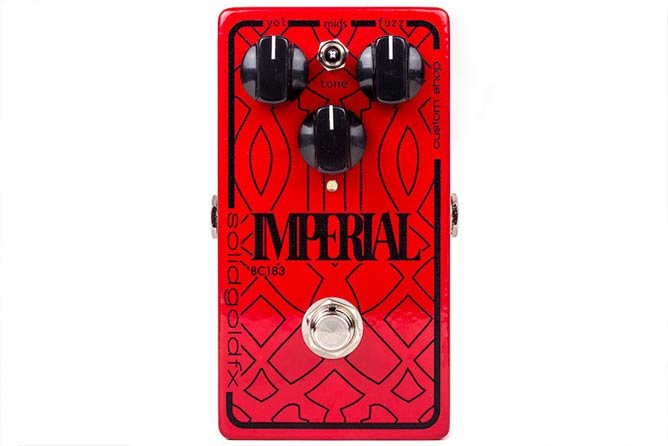 Solid Gold FX Imperial BC183 - Custom Shop Red