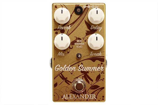 Alexander Pedals Golden Summer Reverb