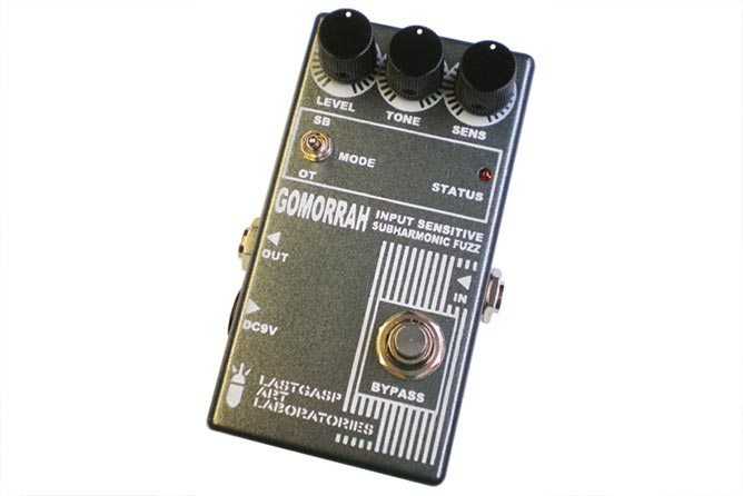 Lastgasp Art Laboratories - Gomorrah input sensitive subharmonic fuzz.