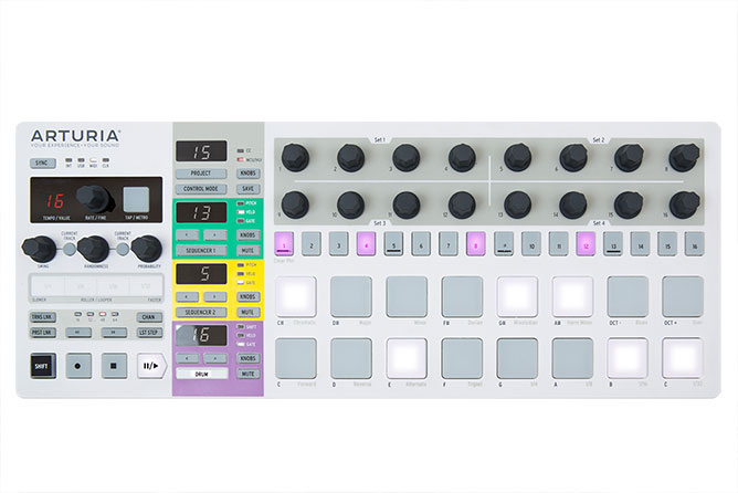 Arturia BeatStep Pro Controller and Step-Sequencer