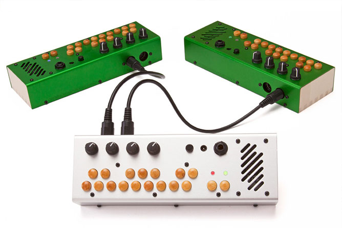 Critter & Guitari Pocket Piano MIDI - Green + Silver