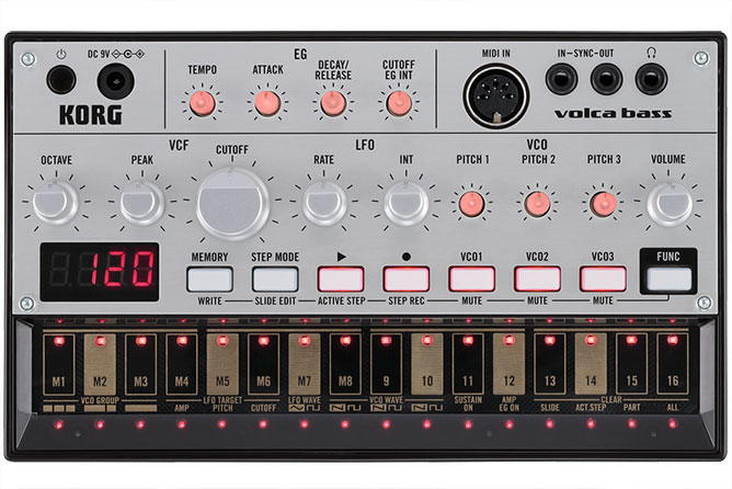 Korg Volca Bass - Analogue Bass Machine