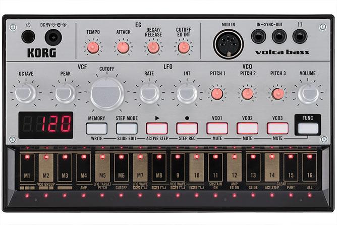 Korg Volca Bass - Analogue Bass Machine