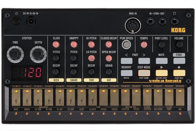 Korg Volca Beats - Analogue Drum Machine