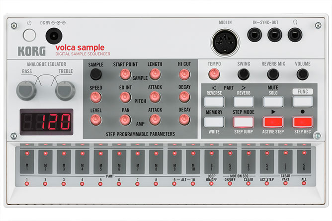 Korg Volca Sample - Digital Sample Sequencer