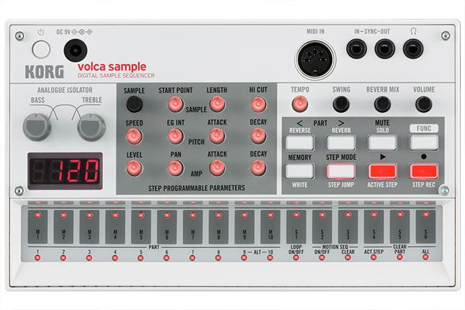 Korg Volca Sample - Digital Sample Sequencer