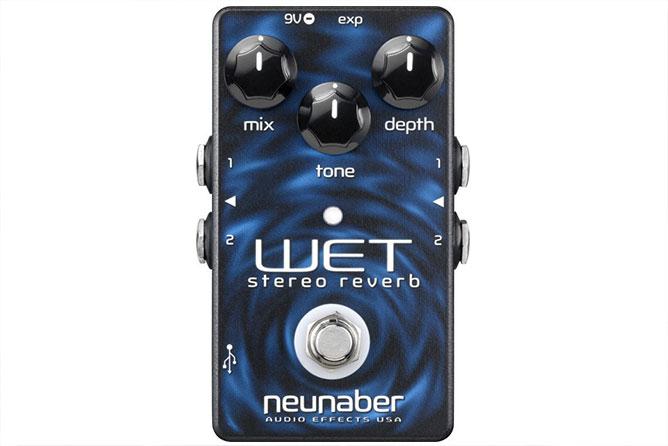 Neunaber Wet Stereo Reverb Pedal v2