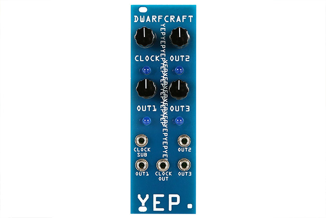 Dwarfcraft Devices YEP Eurorack Module