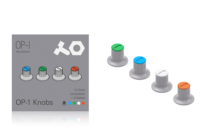 teenage engineering OP-1 knobs