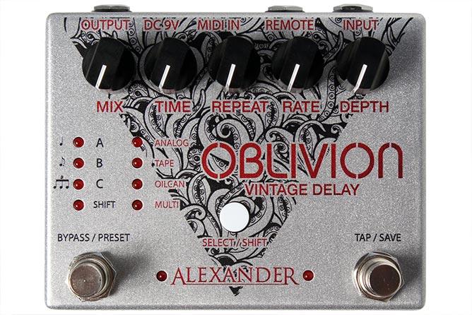 Alexander Pedals Oblivion delay