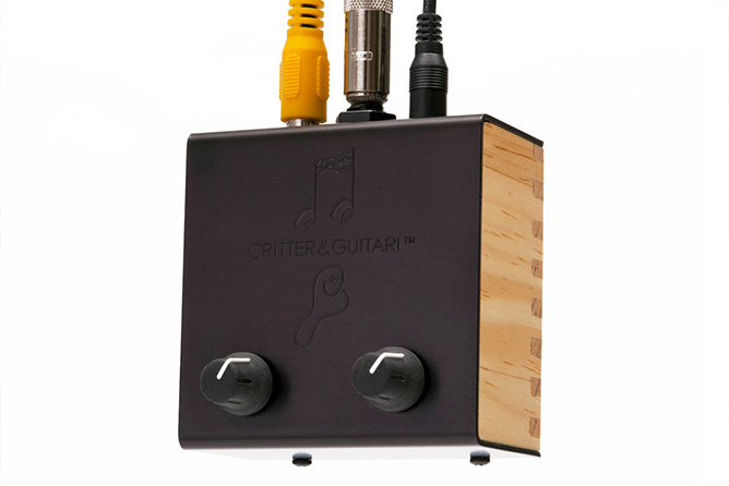 Critter & Guitari Black & White Video Scope