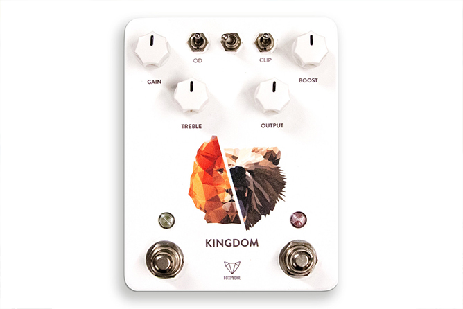 Foxpedal Kingdom Combo - Overdrive / Clean Boost