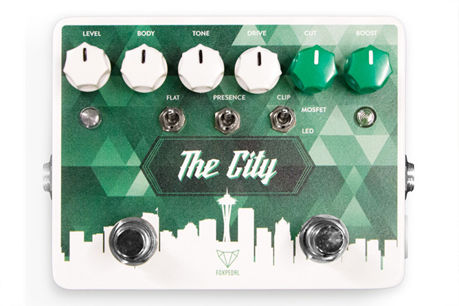 Foxpedal The City Overdrive