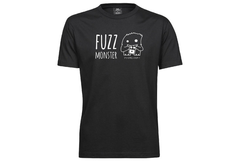 Fuzz Monster T-Shirt black