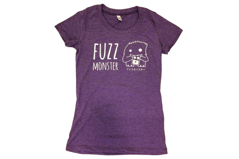 Fuzz Monster T-Shirt purple - girls