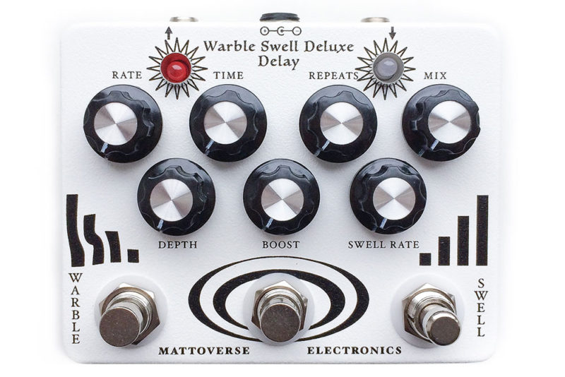 Mattoverse Electronics Warble Swell Deluxe Delay