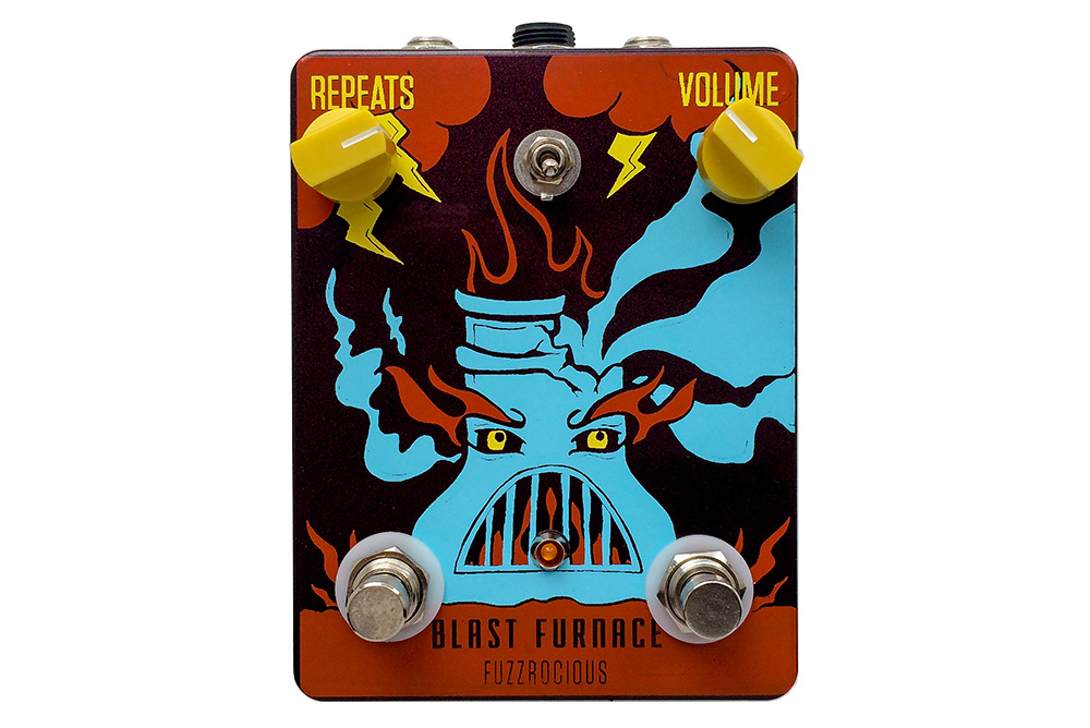 Fuzzrocious Pedals Blast Furnace
